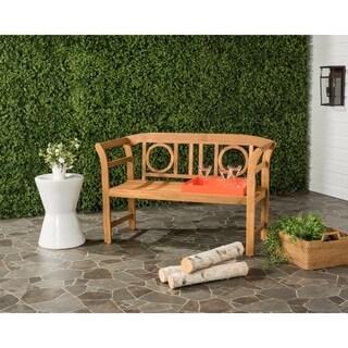 Safavieh Moorpark Outdoor Teak 2 Seat Bench