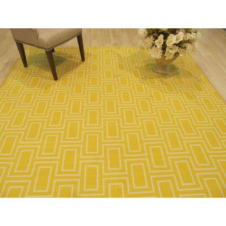 EORC Yellow Brandon Rug (8'10 x 11'10)