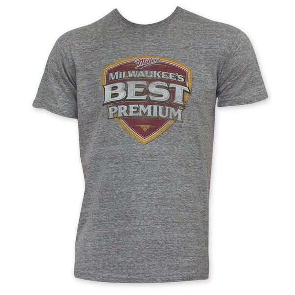 Milwaukee's Best Premuim Grey T-Shirt
