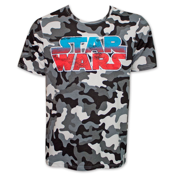 Star Wars Logo Camo T-Shirt