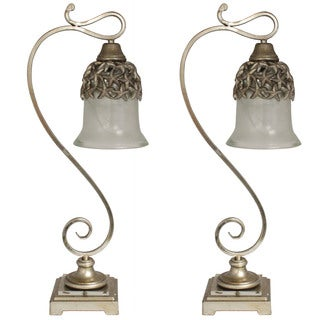 Casa Cortes Newport Collection Pendant Table Lamp (Set of 2)