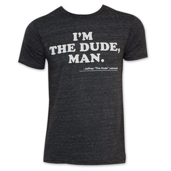 Men's Charcoal The Big Lebowski I'm The Dude T-Shirt