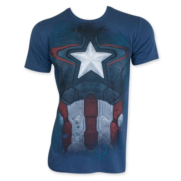 Captain America Suit Subway Costume T-Shirt