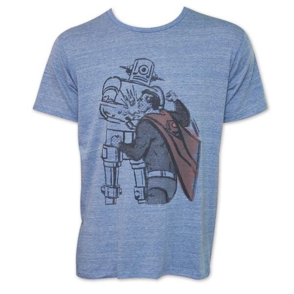 Junk Food Superman Blue T-Shirt