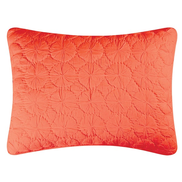 Coral Mara Cotton Standard or Euro Sham