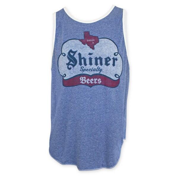 Shiner Specialty Beer Blue Tank Top