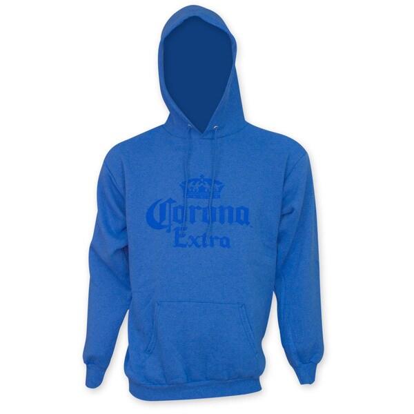 Corona Extra Men's Blue Pullover Hoodie