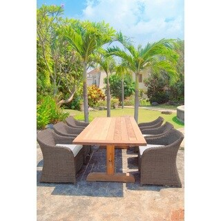 Outdoor Porto Fino Teak Wood Dining Table