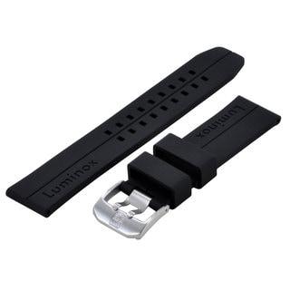 Luminox 6400 Black silicone FP-6401-20 strap