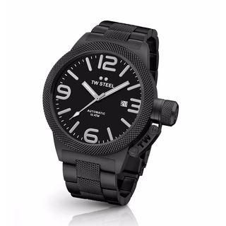 TW Steel Men's CB215 Canteen Black Watch
