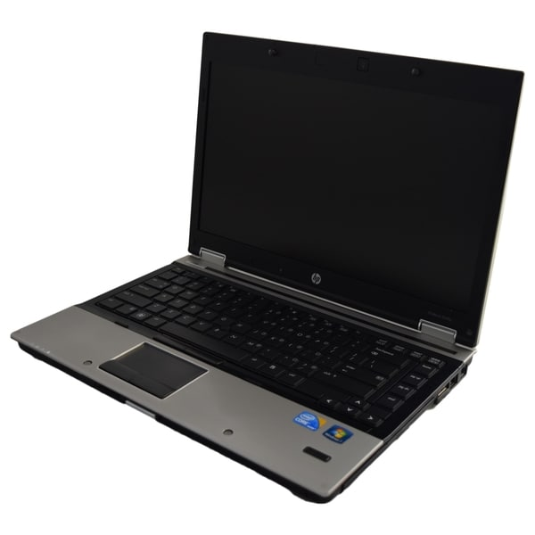 HP EliteBook 8440p 14.1-inch 2.4GHz Intel Core i5 8GB RAM 500GB Windows 7 Professional 64-Bit Silver Laptop (Refurbished)