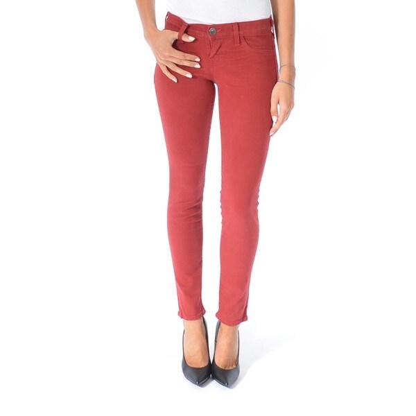 True Religion Women's Casey Mid-Rise Super Skinny Jeans