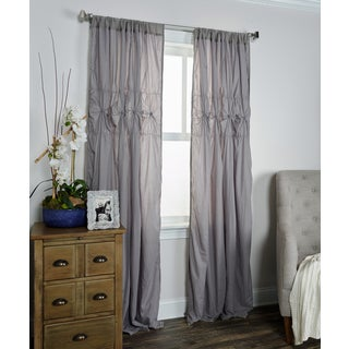 Arden Loft Torsades Collection Grey Window Panel