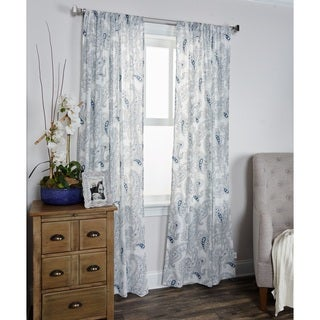 Mindwork Collection Paisley Pattern 84-inch Window Panel by Arden Loft