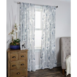 Mindwork Collection Paisley Pattern 96-inch Window Panel by Arden Loft