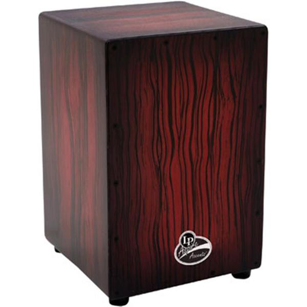LP Latin Percussion LPA1332DW Dark Wood Streak Aspire Accents Cajon