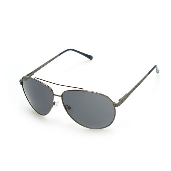 GUESS GF0142 Silver Metal Round Frame Men's Sunglasses
