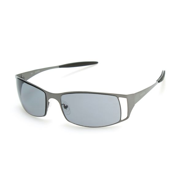 GUESS GU6248 Gunmetal Metal Rectangular Frame Men's Sunglasses