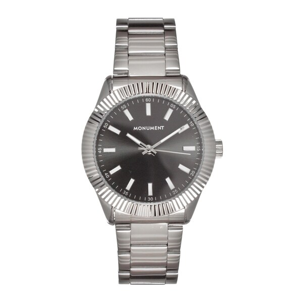 Monument Men's MMT4611 The Exec Fluted Bezel Watch