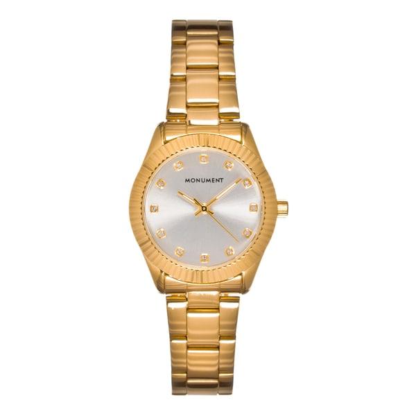 Monument Women's MMT4636 Kensington Fluted Bezel Quartz Watch