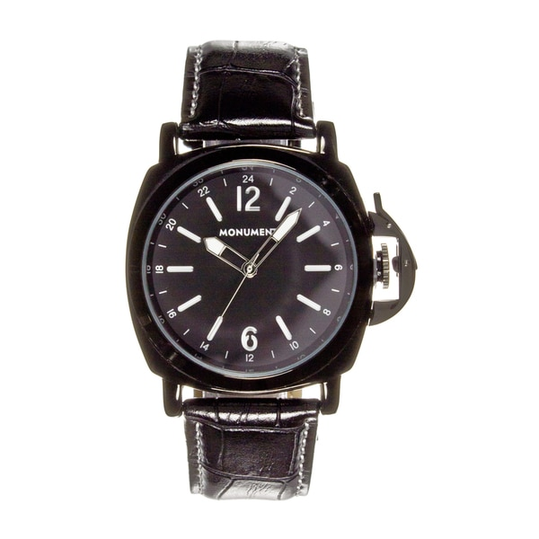 Monument Men's MMT4683 Rank Alloy Case Analog Watch