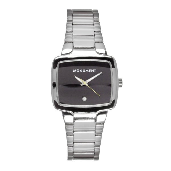 Monument Men's MMT4687 Cameron Square Dial Quartz Watch