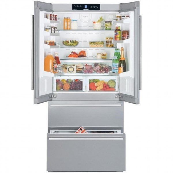 Liebherr 36-inch Fully Integrated French Door Refrigerator