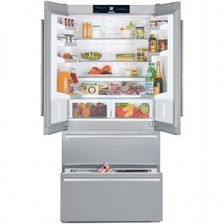 Liebherr 36-inch Fully Integrated Panel Ready French Door Refrigerator