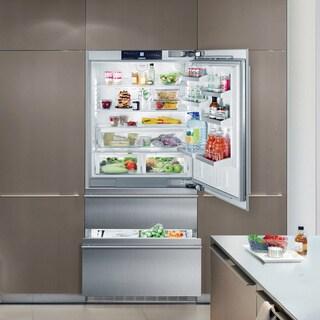 Liebherr Premium Plus Series 36-inch Fully Integrated Panel Ready Bottom Freezer Refrigerator