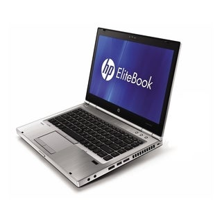 HP EliteBook 8460p 14-inch Silver Laptop Intel Core i5 Gen 2 2.50GHz 4GB 250GB Windows 7 Home Premium 64-Bit (Refurbished)
