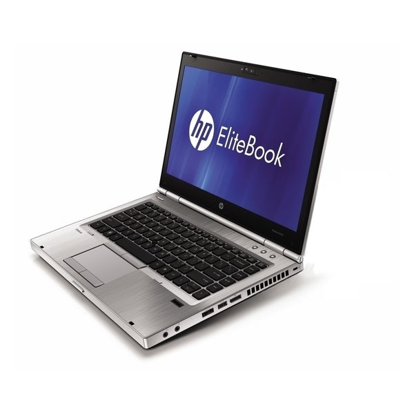 HP EliteBook 8460p 14-inch Silver Laptop Intel Core i7 Gen 2 2.70GHz 4GB 128GB SSD Windows 7 Professional 64-Bit (Refurbished)