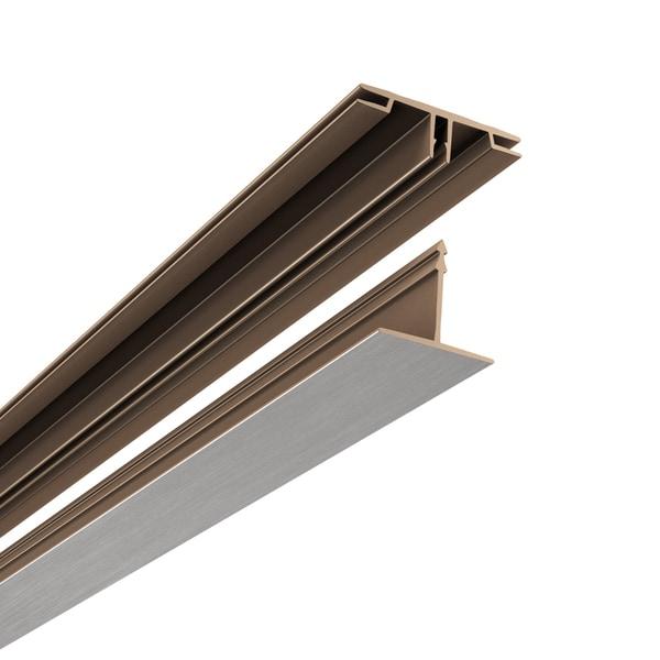 CeilingMAX 100 sq. ft. Ceiling Grid Kit Brushed Nickel