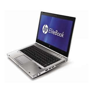 HP EliteBook 8460p 14-inch Silver Laptop Intel Core i5 Gen 2 2.50GHz 4GB 100GB SSD Windows 7 Home Premium 32-Bit (Refurbished)