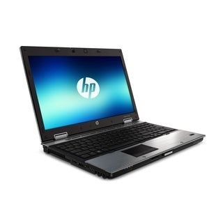 HP EliteBook 8540p 15.6-inch Silver Laptop Intel Core i5 Gen 1 2.53GHz 4GB 160GB Windows 7 Professional 64-Bit (Refurbished)