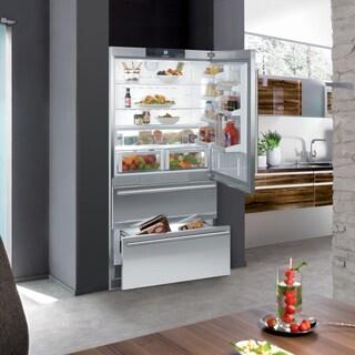 Liebherr Premium Plus Series 20-cubic Foot Counter Depth Bottom Freezer Refrigerator