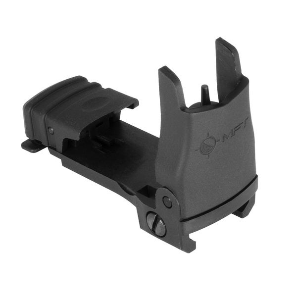 MFT Front BackUp Sight Flip Up with Elevation Adj