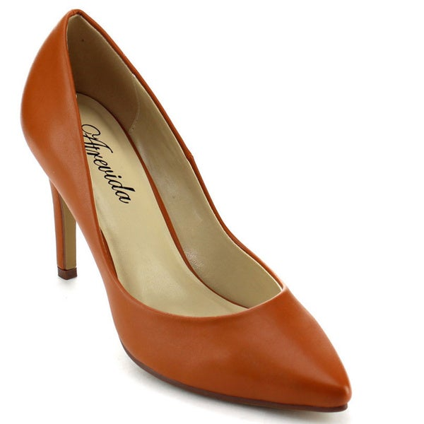 ATREVIDA GEENA-01 Women's Pointy Toe Pumps