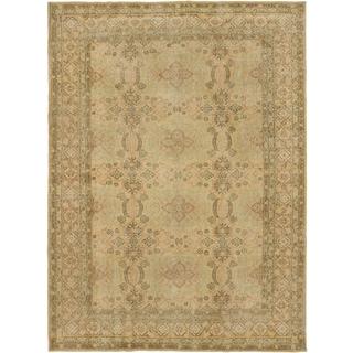 ecarpetgallery Anatolian Sunwash Beige/ Yellow Wool Rug (7'1 x 9'8)