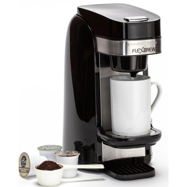 Recertified Hamilton Beach FlexBrew Plus Single-serve Coffee Maker 17491714