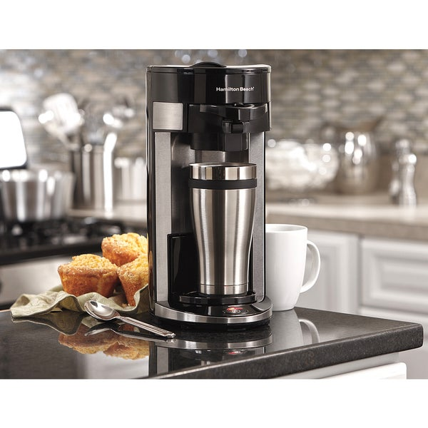 Recertificated Hamilton Beach FlexBrew Single-serve Coffeemaker (As Is Item) 32933899