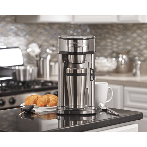 Recertified Hamilton Beach The Scoop Single-Serve Coffeemaker 17492171