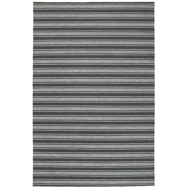 Shadow Stripe Outdoor Rug (3'3 x 4'11) - 3'3 x 4'11 17492277