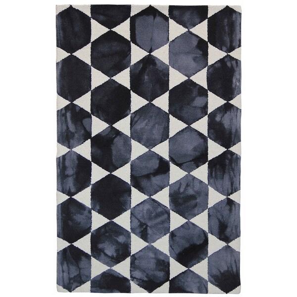 Hexagon Blocks Indoor Rug (5' x 8')