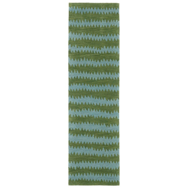 Jagged Stripe Indoor Rug (2'3 x 8)