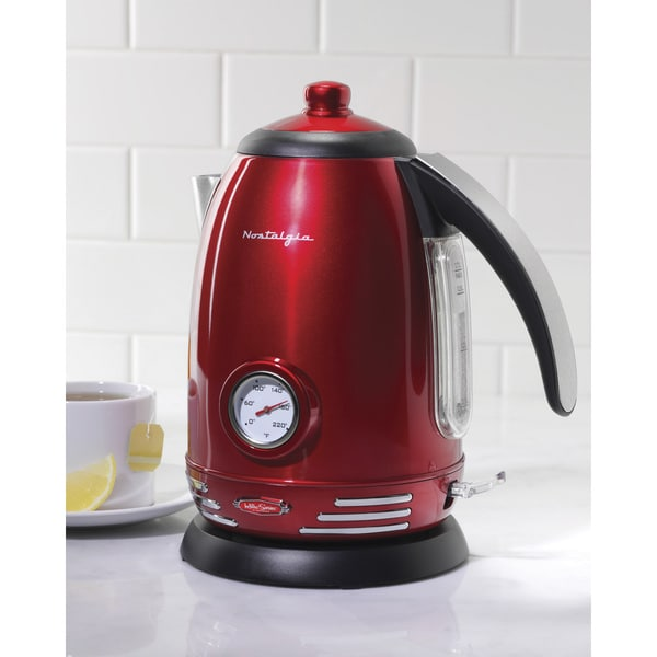 Nostalgia RWK150 Retro Series '50s Style Electric Water Kettle