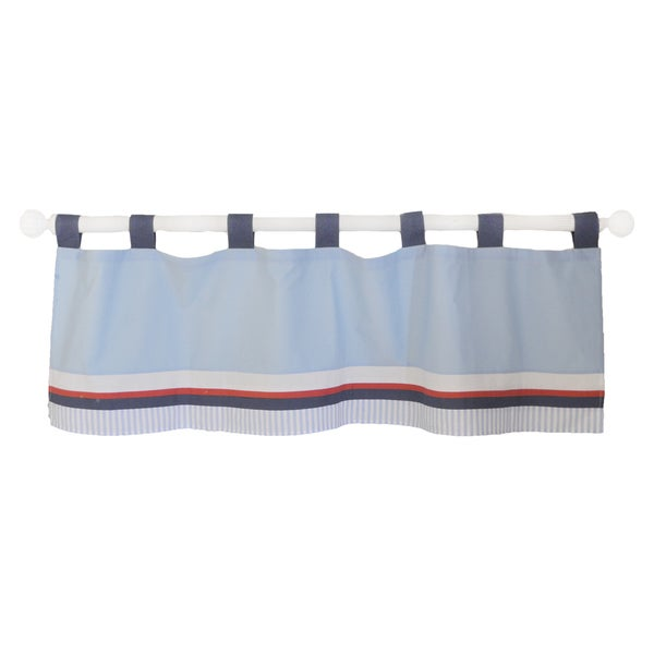 My Baby Sam First Mate Curtain Valance