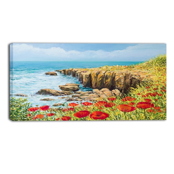 Designart - Summer Breeze - Landscape Canvas Art Print