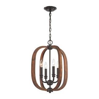 Elk Wood Arches 4-light LED Oil-rubbed Bronze Chandelier