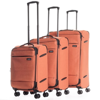 CalPak Castlegate Lightweight 3-Piece Spinner Luggage Set