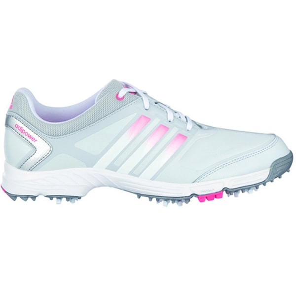 Adidas Adipower TR Golf Shoes 2015 Ladies CLOSEOUT Grey/White/Red